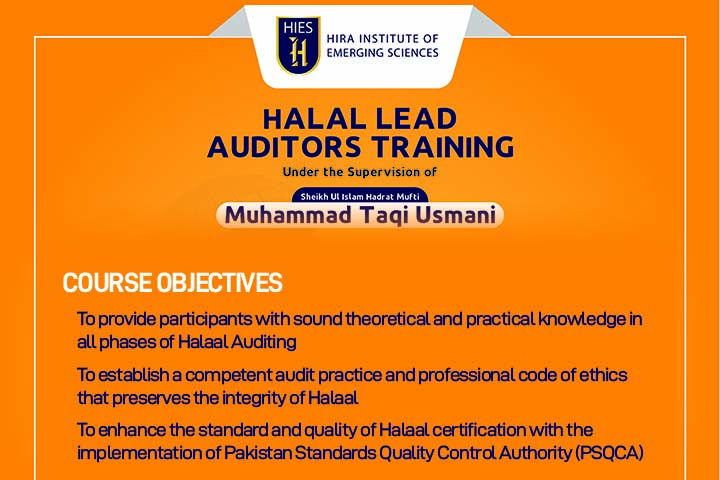HALAL LEAD AUDITOR'S TRAINING