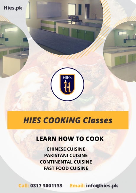 Cooking classes in karachi