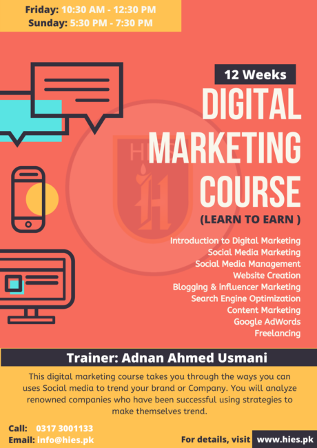 Digital Marketing Course in Karachi